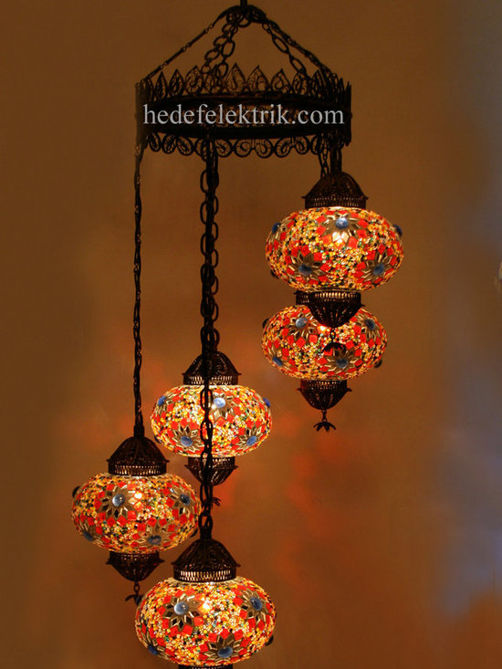 Turkish Style - Mosaic Lighting - Code: HD-04160_85