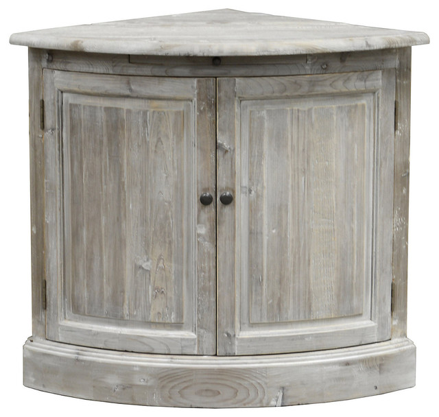 Emilia Corner Cabinet - Rustic - Storage Cabinets - by One Kings Lane