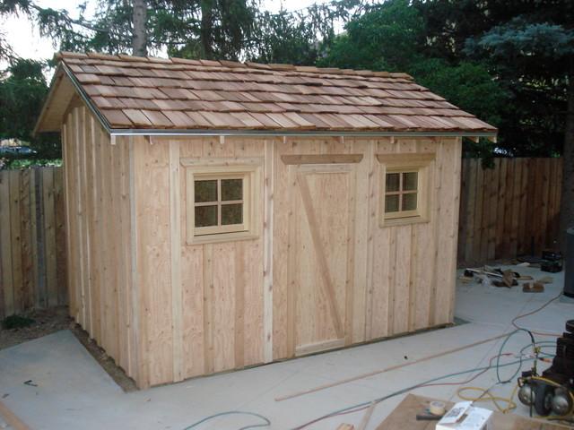 Custom sheds traditional-sheds