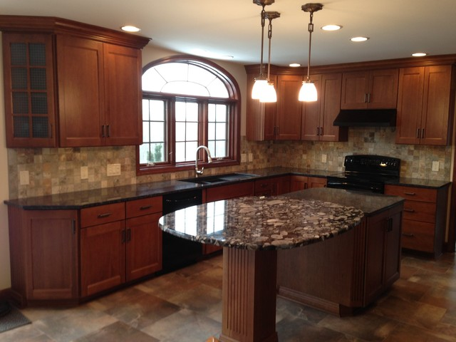 Macedon kitchen remodel - Traditional - new york - by Vella Bath & Kitchen, Inc.
