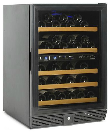 NFINITY 50 Dual Zone Wine Cellar contemporary refrigerators and freezers