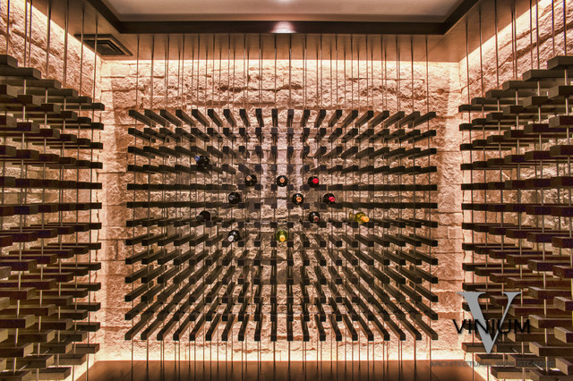 Vinium Series Contemporary Wine Cellar Boston By