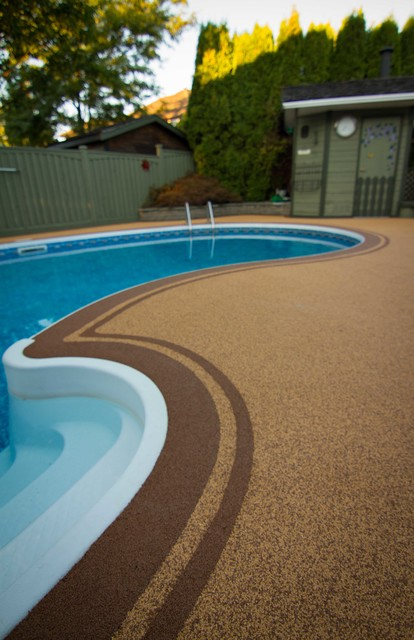 Double Border Pool Deck Langley Traditional Vancouver