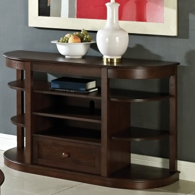 Steve Silver Crestview Sofa Table - Espresso modern-dining-tables