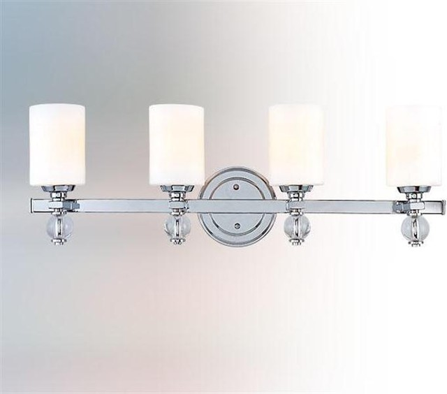 Bentley 4 Light Bath  Modern  Bathroom Lighting And Vanity Lighting