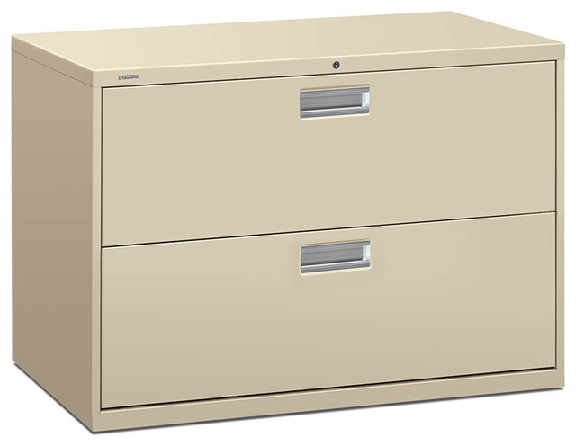 HON Brigade Lateral File - 2 Drawer - Contemporary - Filing Cabinets And Carts - by Rulers