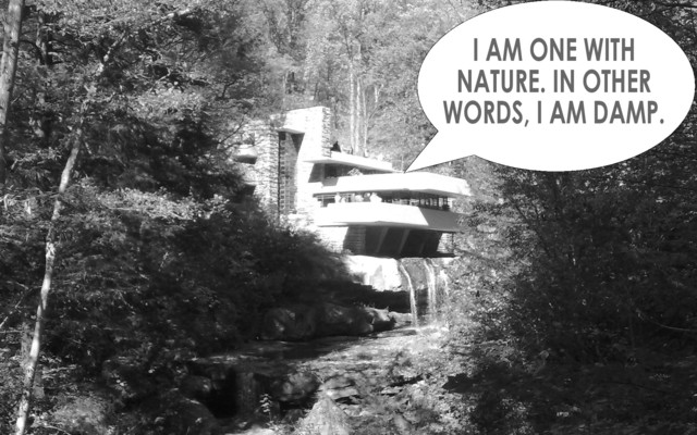 Falling Water - Frank Llyod Wright  exterior