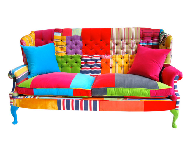 Eclectic Sofa : The Peebles Sofa - Eclectic - Sofas - by Squint Limited