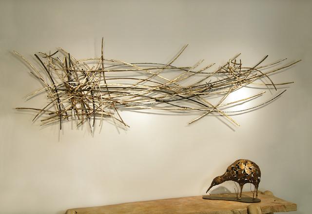 Silas Seandel Twigs 16 Wall Sculpture