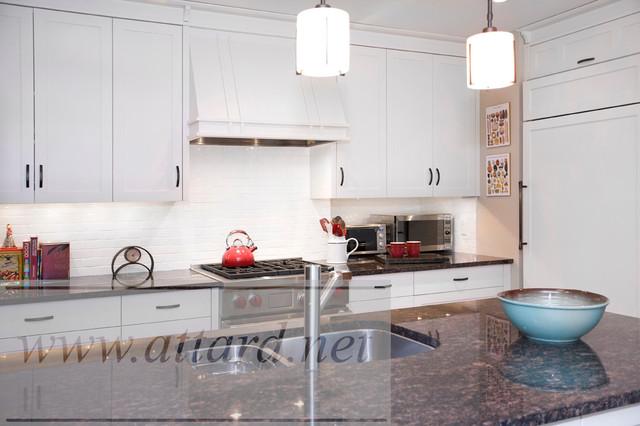 Arts and Craft Kitchen contemporary-kitchen
