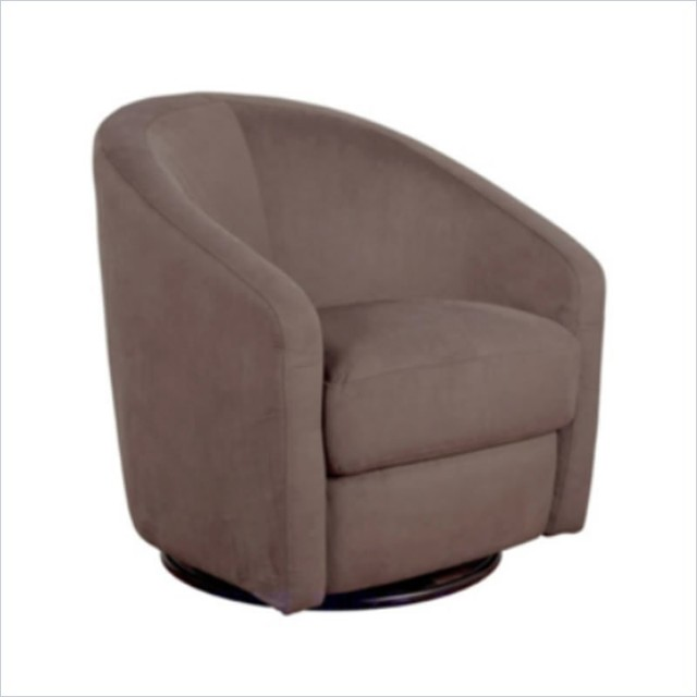Babyletto Madison Swivel Glider In Slate Contemporary Gliders Other Met