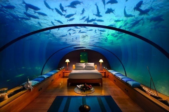 Deep sea tropical-bedroom