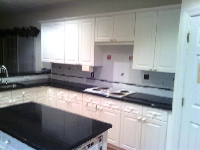 11 2 12 Black Pearl Granite Wonderful With White Cabinets