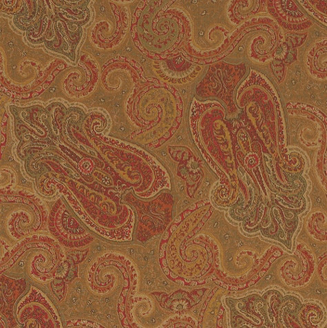 Ashford Paisley Fabric by the Yard traditional-upholstery-fabric