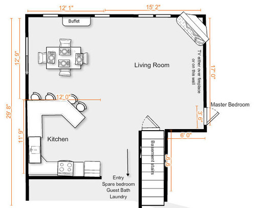 Need Help For Furniture Layout In Condo Living Room