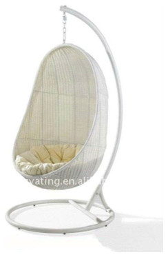 Hanging Indoor Rattan Swing Chair contemporary-living-room-chairs