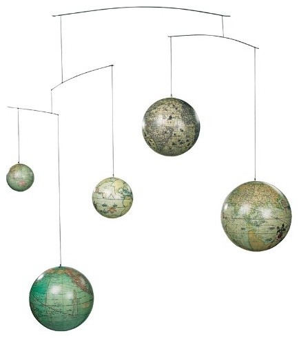 Historical Five Centuries Globe Mobile modern mobiles