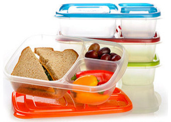 Contemporary Food Storage Containers by Easy Lunchboxes