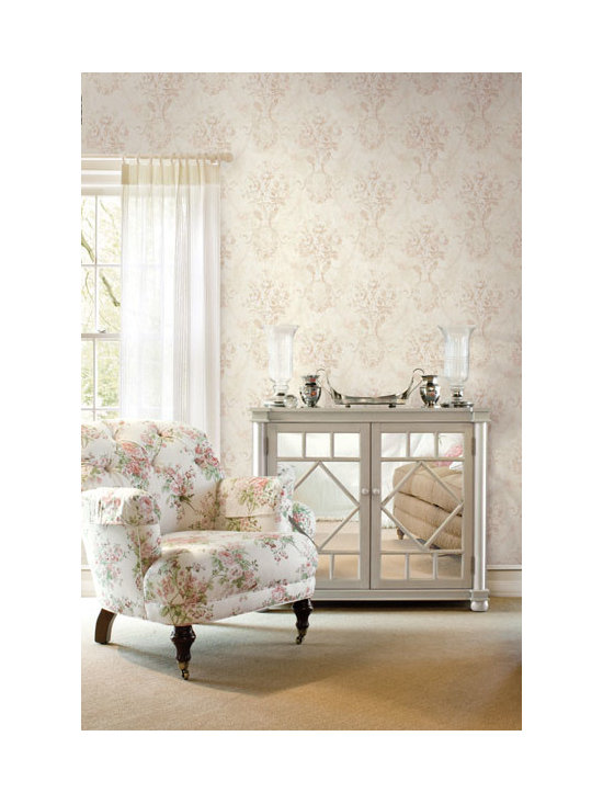 Vintage Wallpaper - A sophisticated vintage wallpaper inspipration available from Brewster Home Fashions