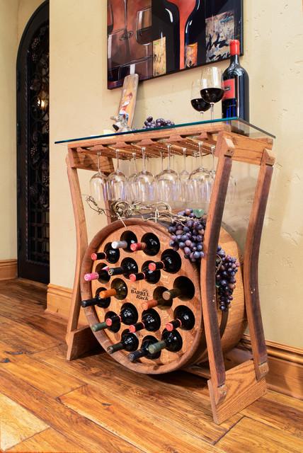 Barrel Wine Racks - Traditional - Wine Racks - other metro ...