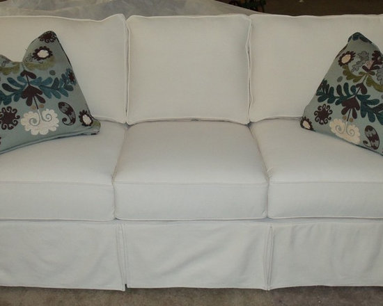 Customer Custom Orders - Rowe Nantucket Slipcover Sofa