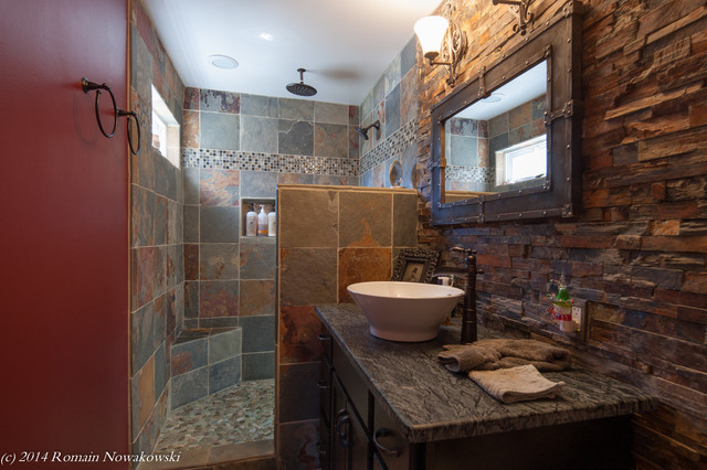Bjoring Residential Renovation - Rustic - Bathroom - dc ...