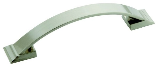 Amerock Candler 3.75-inch Satin Nickel Pulls (Pack of 5) contemporary-kitchen-cabinetry