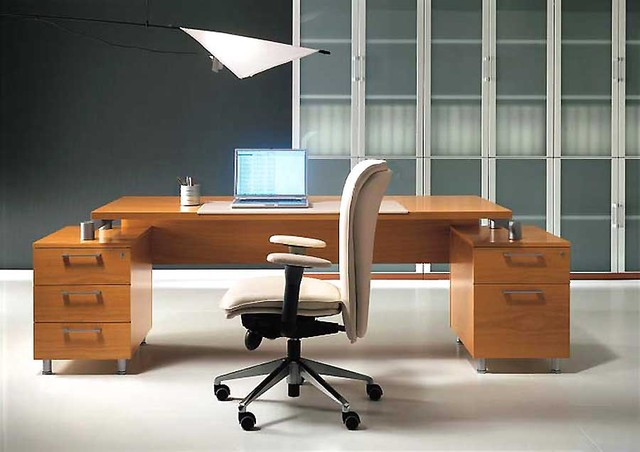 tai wood executive office desk by uffix modern desks and hutches