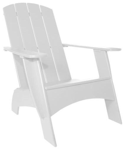 Adirondack 4 Slat Standard Chair by Loll Designs modern-outdoor-pillows