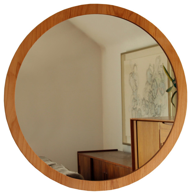 Round Wall Mirror Contemporary Mirrors