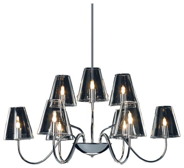 Chic 9-Light Chandelier modern-chandeliers