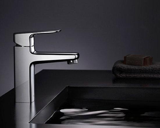 Bright and Simple Bathroom Sink Faucet,Polished Chrome - Item #: FAU0402004