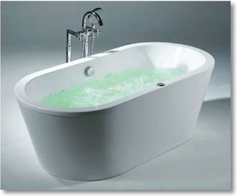 freestanding tub with jets. 70  Curve Acrylic Pedestal Tub tub Free shipping and Products