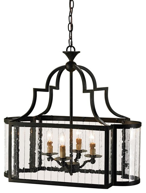 Currey & Company Godfrey Lantern traditional pendant lighting