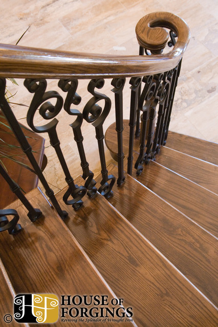 Endecor Iron Balusters traditional-staircase