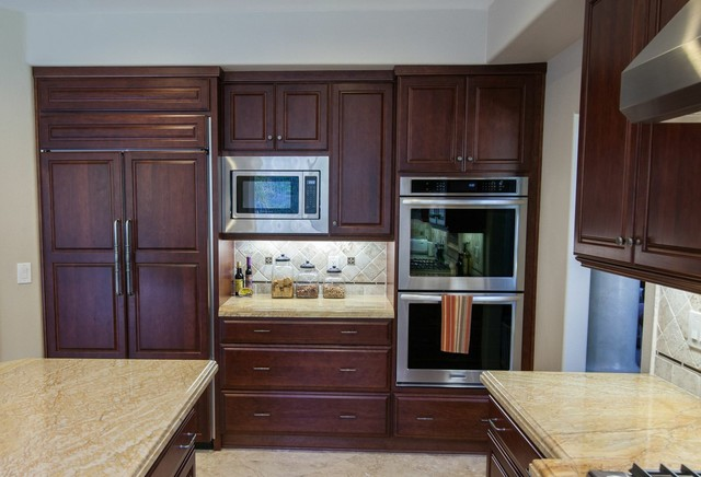 Simi Valley Residence modern-kitchen-cabinets
