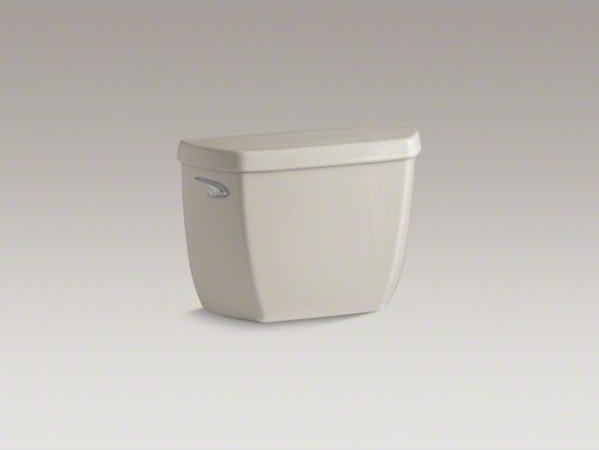 KOHLER Wellworth(R) classic 1.28 gpf toilet tank with Class Five(R) flushing tec contemporary-toilets