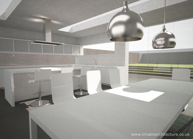 Contemporary kitchen extension contemporary-kitchen