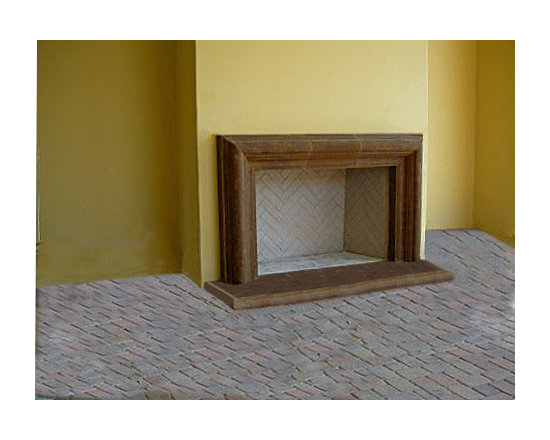 Cast Stone Fireplace Mantel Surround -