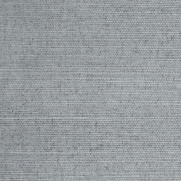 Sisal Blue Grass Cloth Wallpaper, Double Roll beach-style-wallpaper