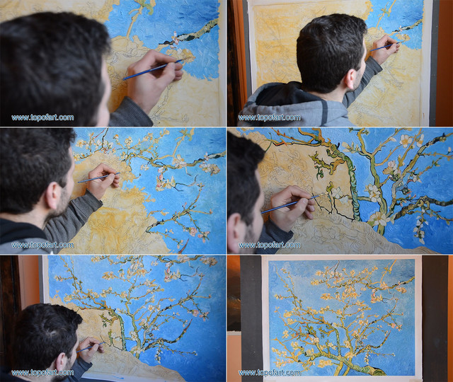 Blossoming Almond Tree | van Gogh | Painting Reproduction artwork