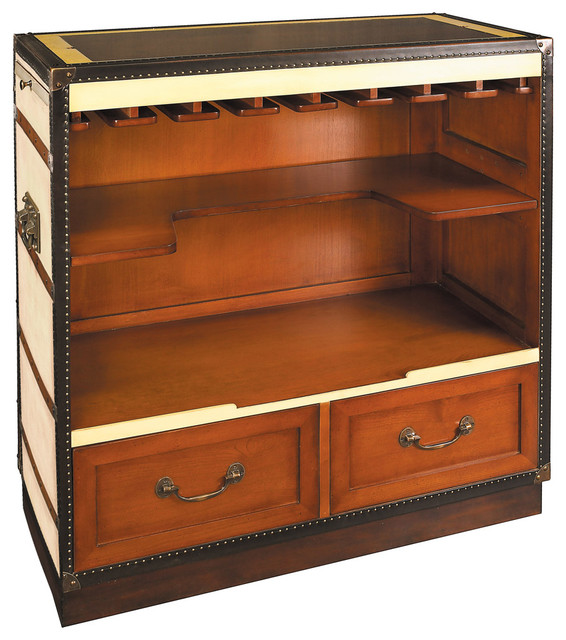 Authentic Models MF047C Casablanca Lounge Bar traditional-wine-and-bar-cabinets
