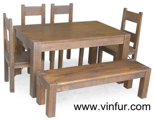 Hardwood furniture - asian - dining tables - other metro - by