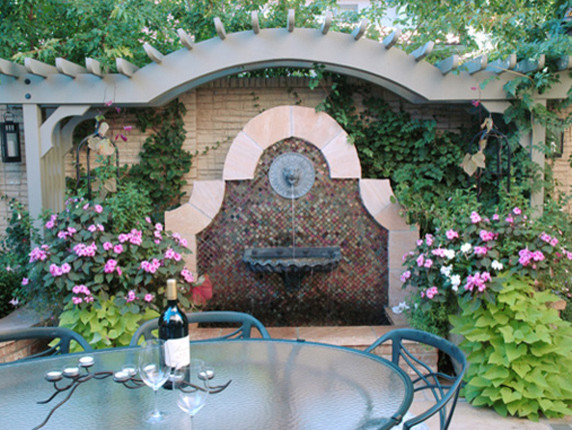 Small Garden Spaces traditional-landscape