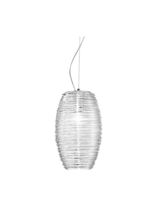 Vistosi - Damasco SP G Pendant Light | Vistosi - Design by Paolo Crepax, 2003.