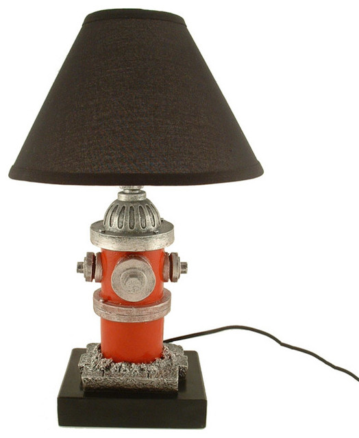 Fire Hydrant Lamp Eclectic Table Lamps Other Metro
