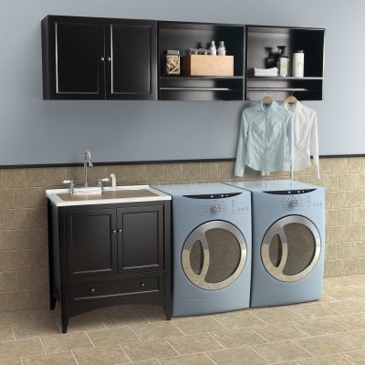 Foremost Berkshire Laundry Wall Cabinet modern-bathroom-cabinets-and-shelves