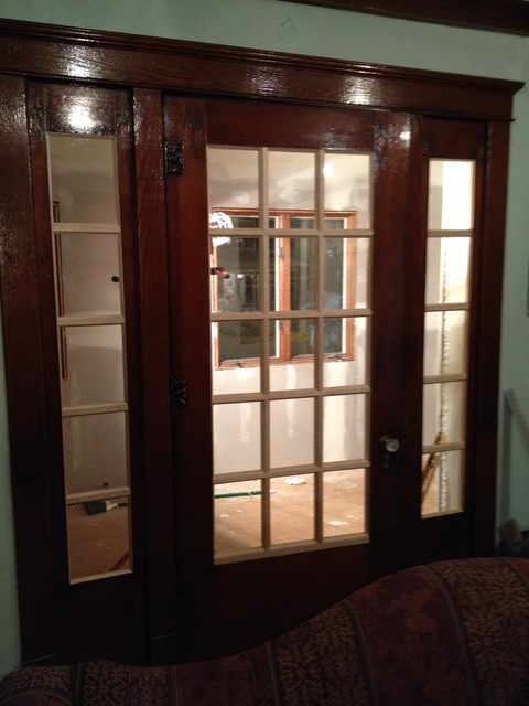 Enclosed Front Porch Converted To Foyer