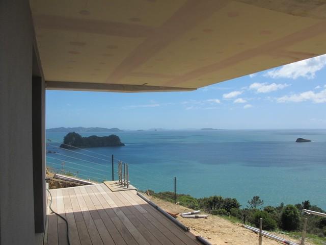 Hahei beach House tropical-exterior