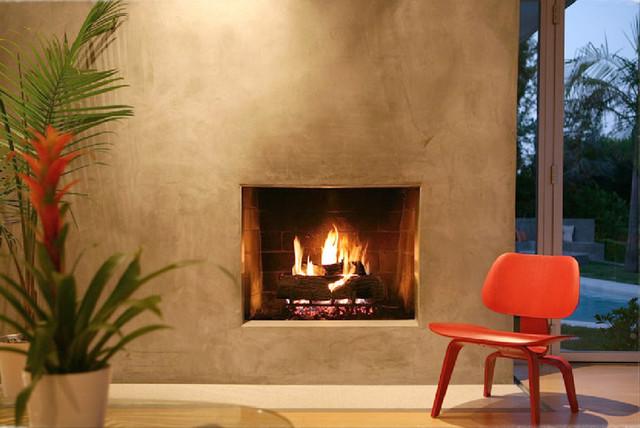 FCB:Design (Markus Canter) Project: Savona Road, Bel Air, CA 90077 modern-living-room